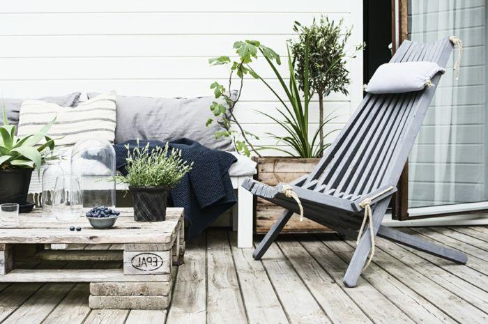 Balkon Gestalten Mit Wenig Geld, Skandinavischer Stil Wirkt Elegant,  Schlicht, Schick Und Kann