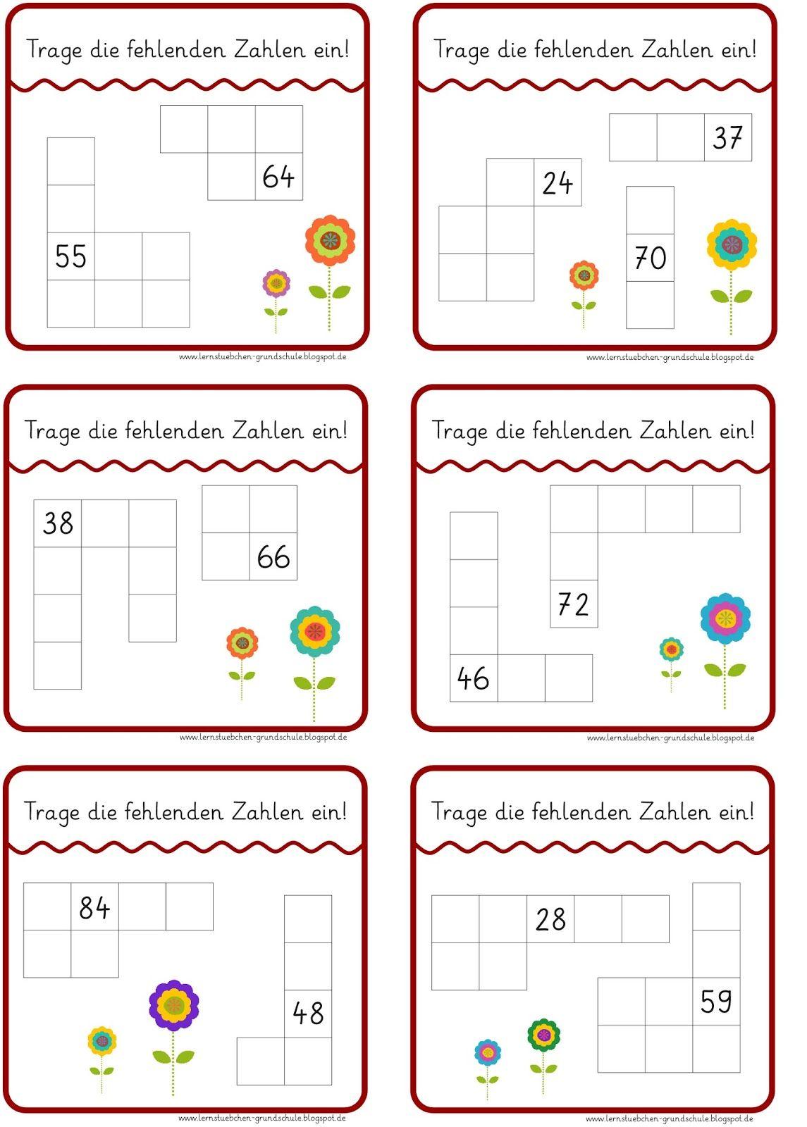 Lernstübchen: Ausschnitte aus der Hundertertafel | Schule ...