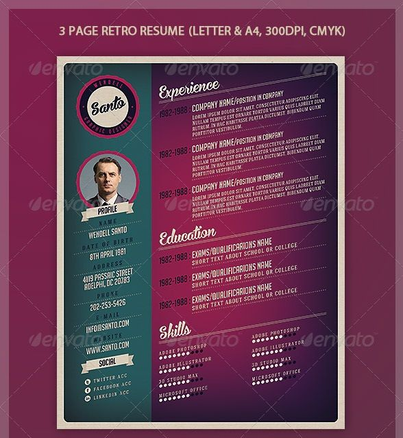 creative resume layouts - Google Search resume Pinterest - creative resume templates free download