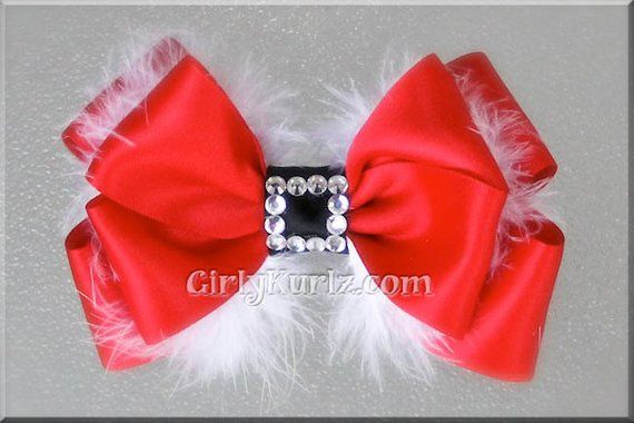 a10f8483339c4 Christmas Hair Bow