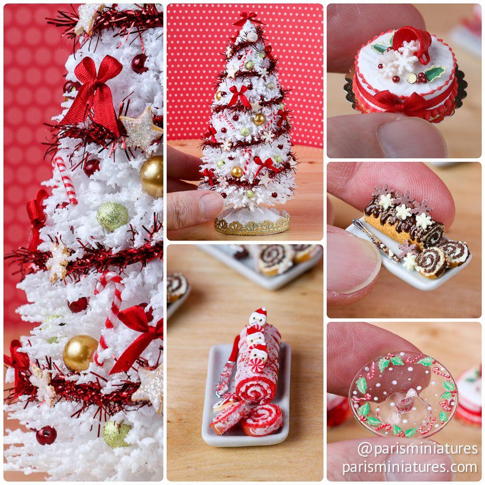 Christmas Miniatures.Paris Miniatures Etsy Update Christmas Miniatures