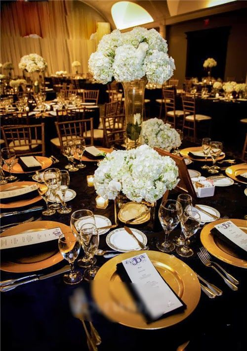 Black White And Gold Wedding Theme The Of Every Point Is