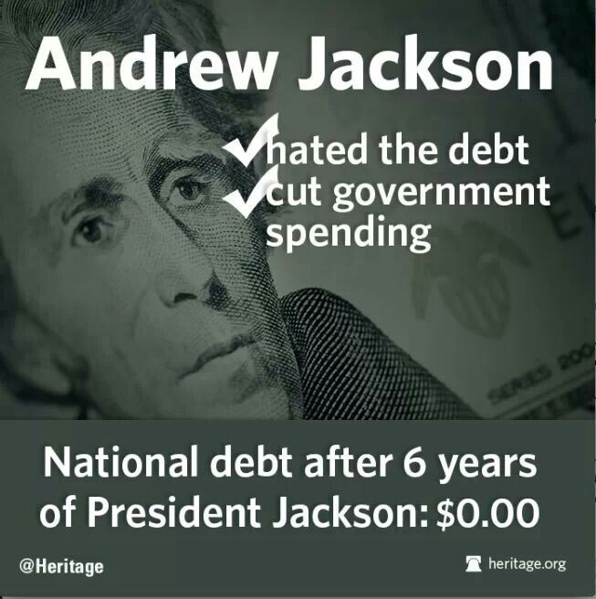 """A Day Without ANational Debt      """" On this day in economic and financial history...  A nation without a debt seems inconceivable today. The United States currently ..."""