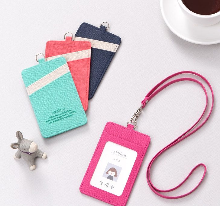 PU Leather Bus Pass Oyster Travel Card Bus Pass ID Holder Wallet Cover Case /…