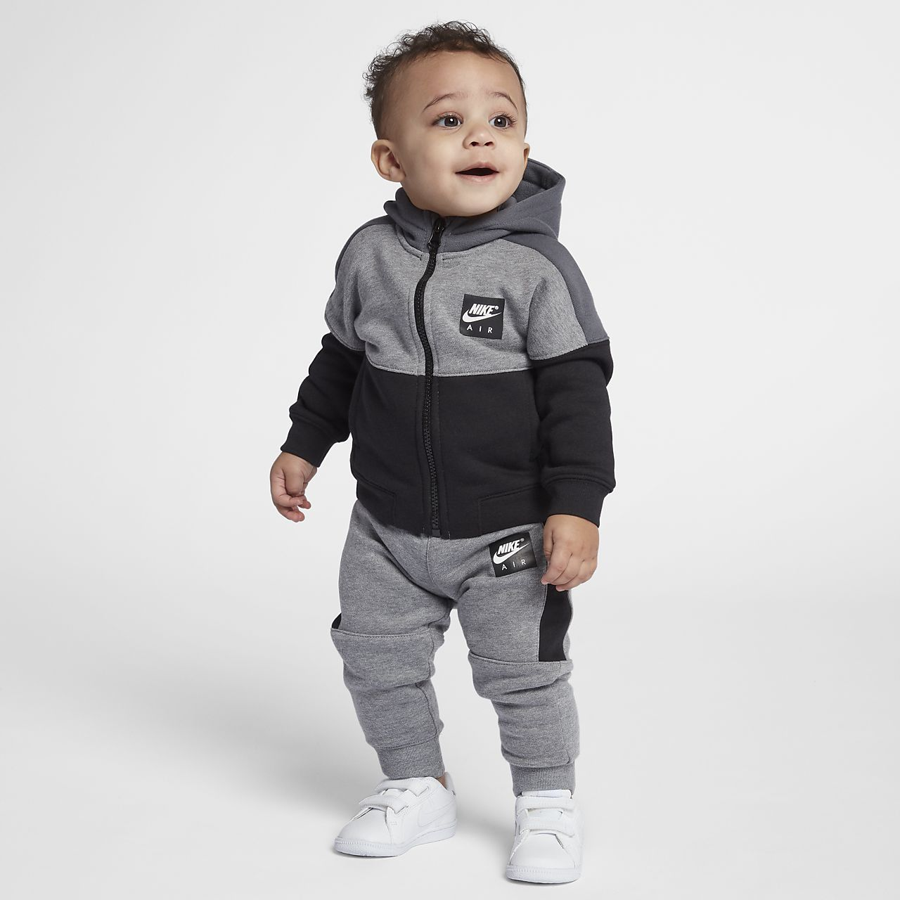 Nike Air Fleece Two Piece Infant Toddler Set Nike Baby Clothes Baby Fashion Baby Boy Nike
