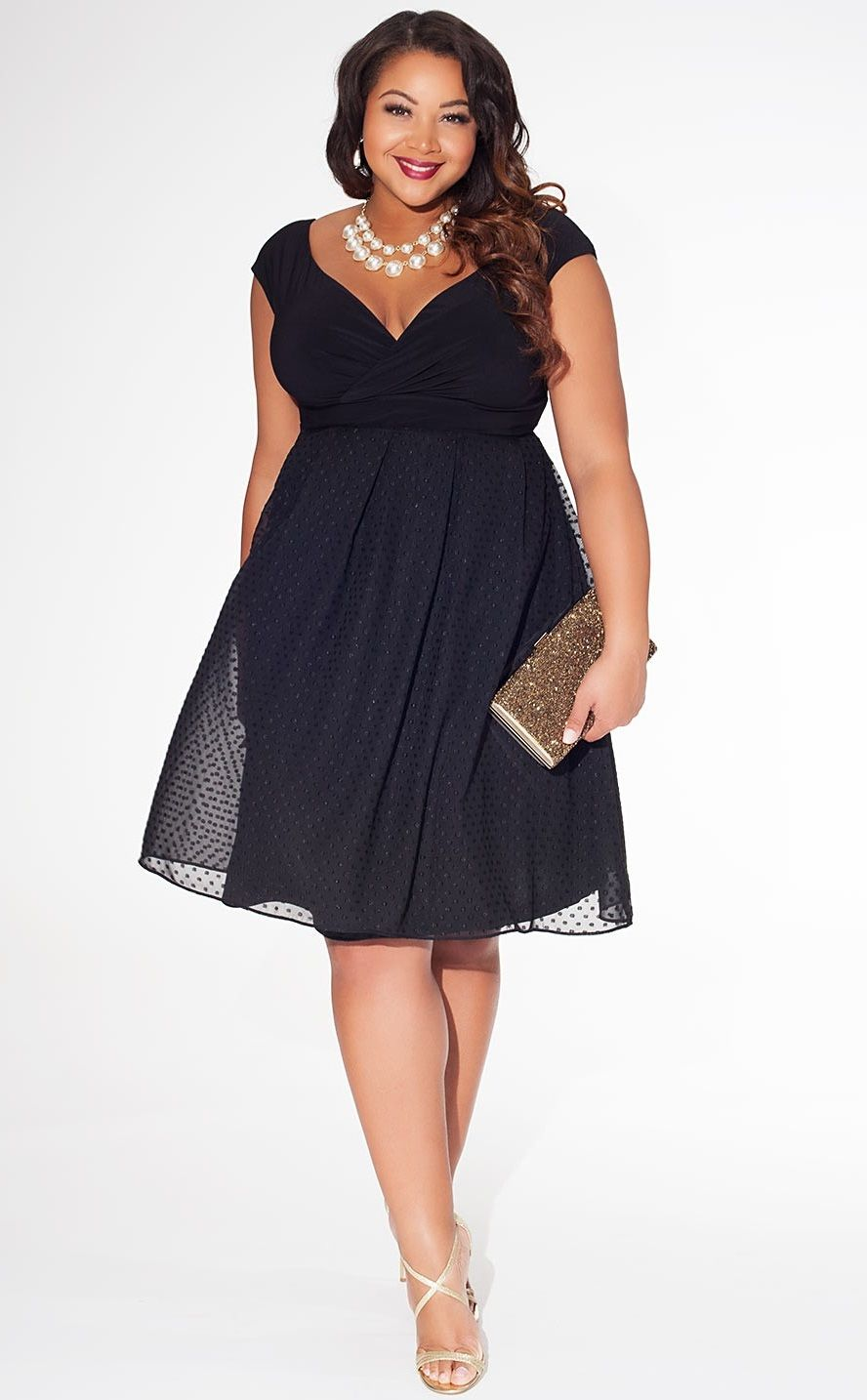 Modelos de vestidos elegantes para senoras gorditas