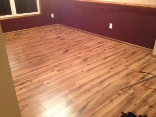 User submitted photo Allen Roth Lodge Oak New House Flooring