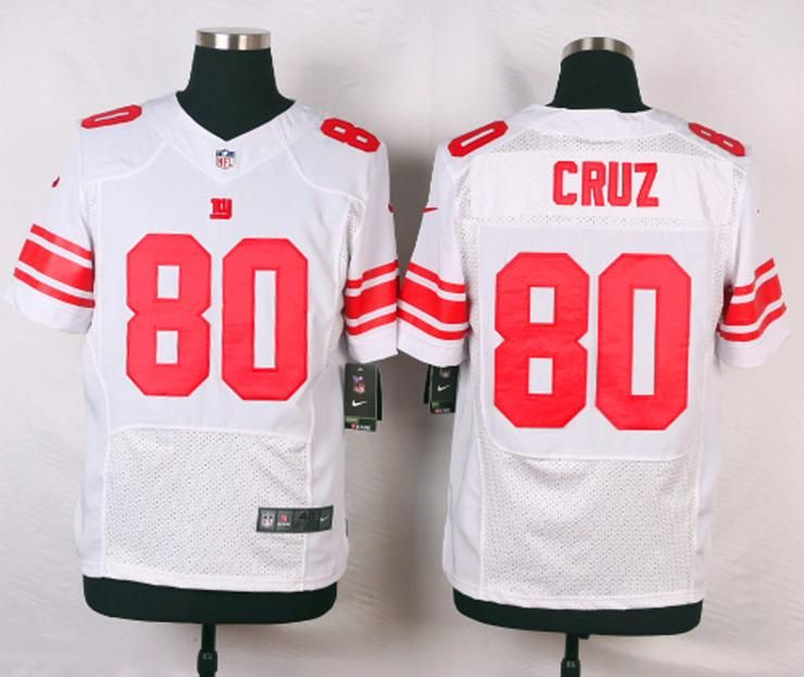big sale c811e c7953 Men 80 Victor Cruz Jersey Football New York Giants Jersey ...