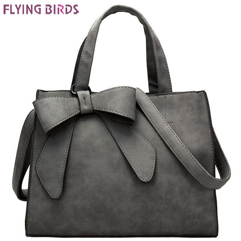 Günstige FLIEGEN VÖGEL! frauen handtaschen aus leder