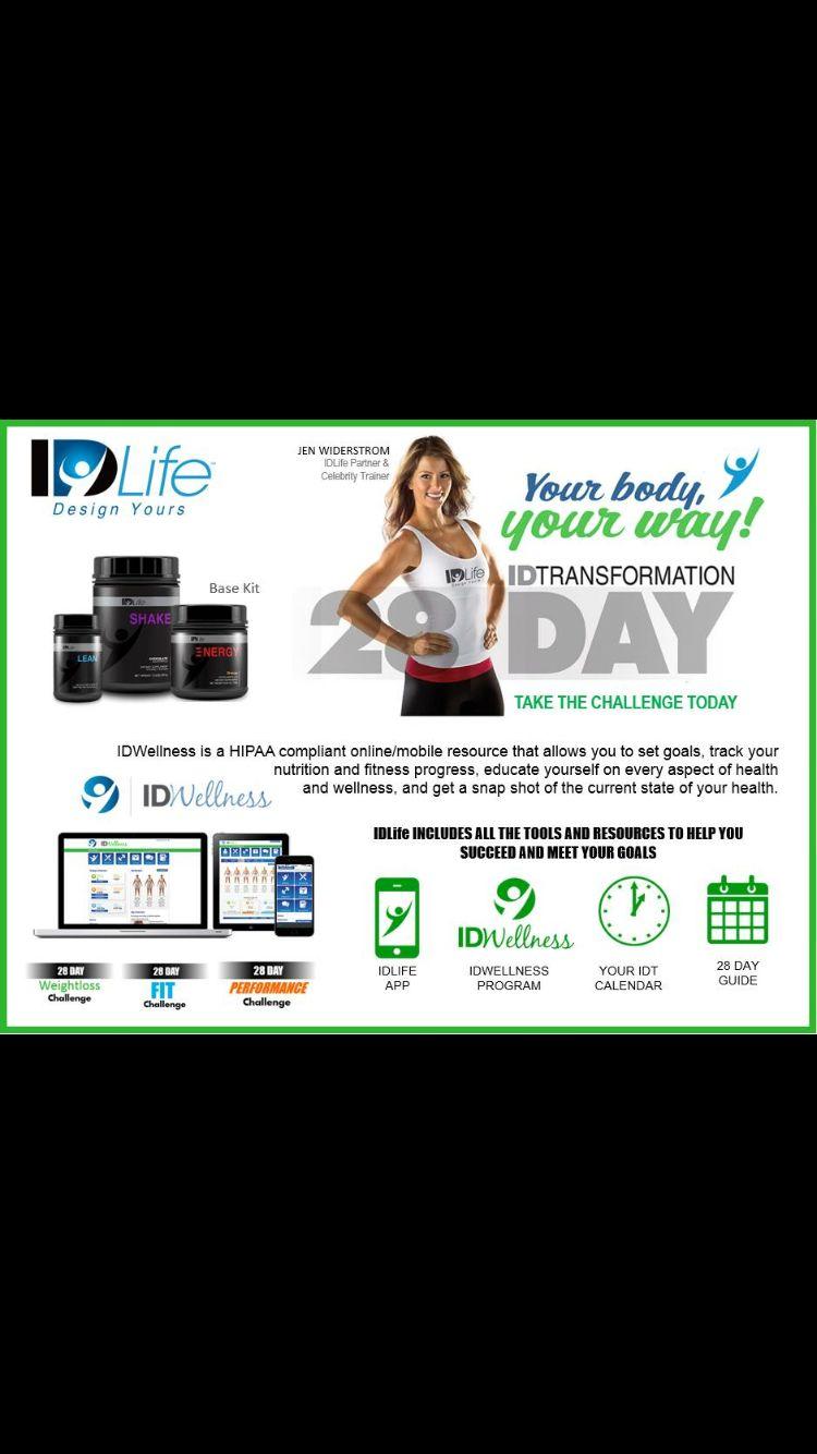 idlife 28 day weightloss challenge