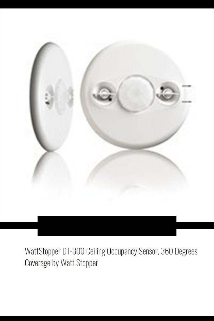 WattStopper DT300 Ceiling Occupancy Sensor, 360 Degrees