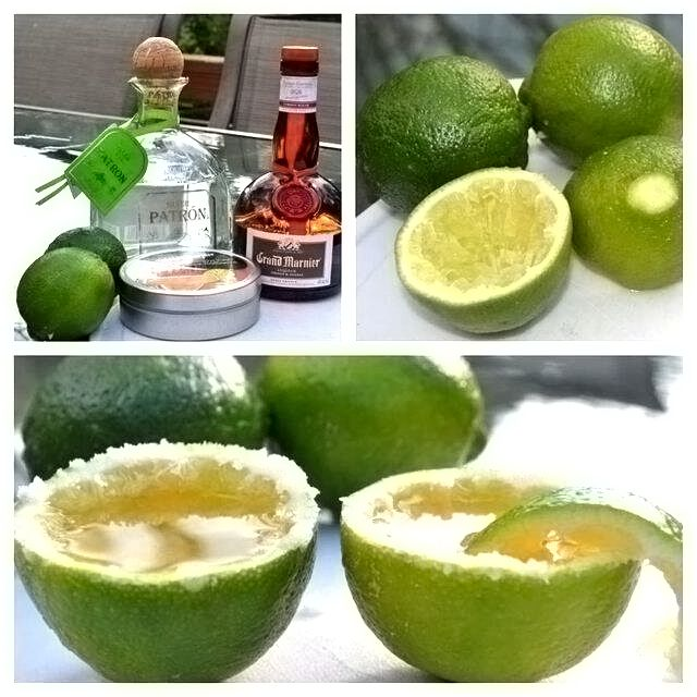 Tequila Lime Shots. Happy Birthday To Bonnie :) Can U
