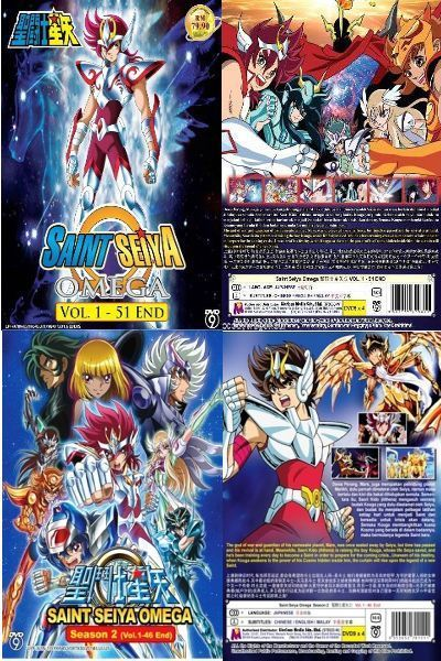 DVD JAPANESE ANIME SAINT SEIYA OMEGA Season 1-2 Vol 1-97End