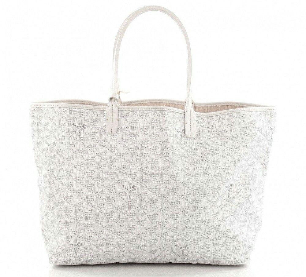 Goyard St Louis Pm Tote White I Love This Bag