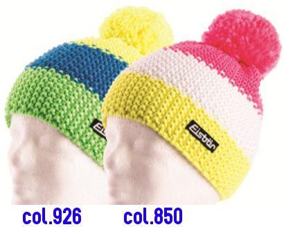 Eisbär Mütze Star Neon Pompon Für Kinder Schöne Klassische
