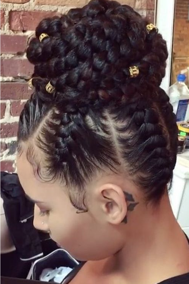 Braided Prom Hairstyles In 2018 Natural Hair Updo Hair Styles