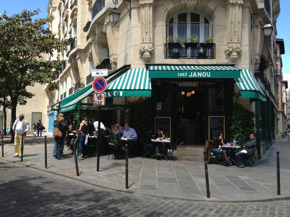 chez janou in paris Île de france best ratatouille a week in