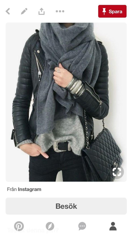 Photo of Qui rister til en utallig kombinasjon Perfecto + foulard?