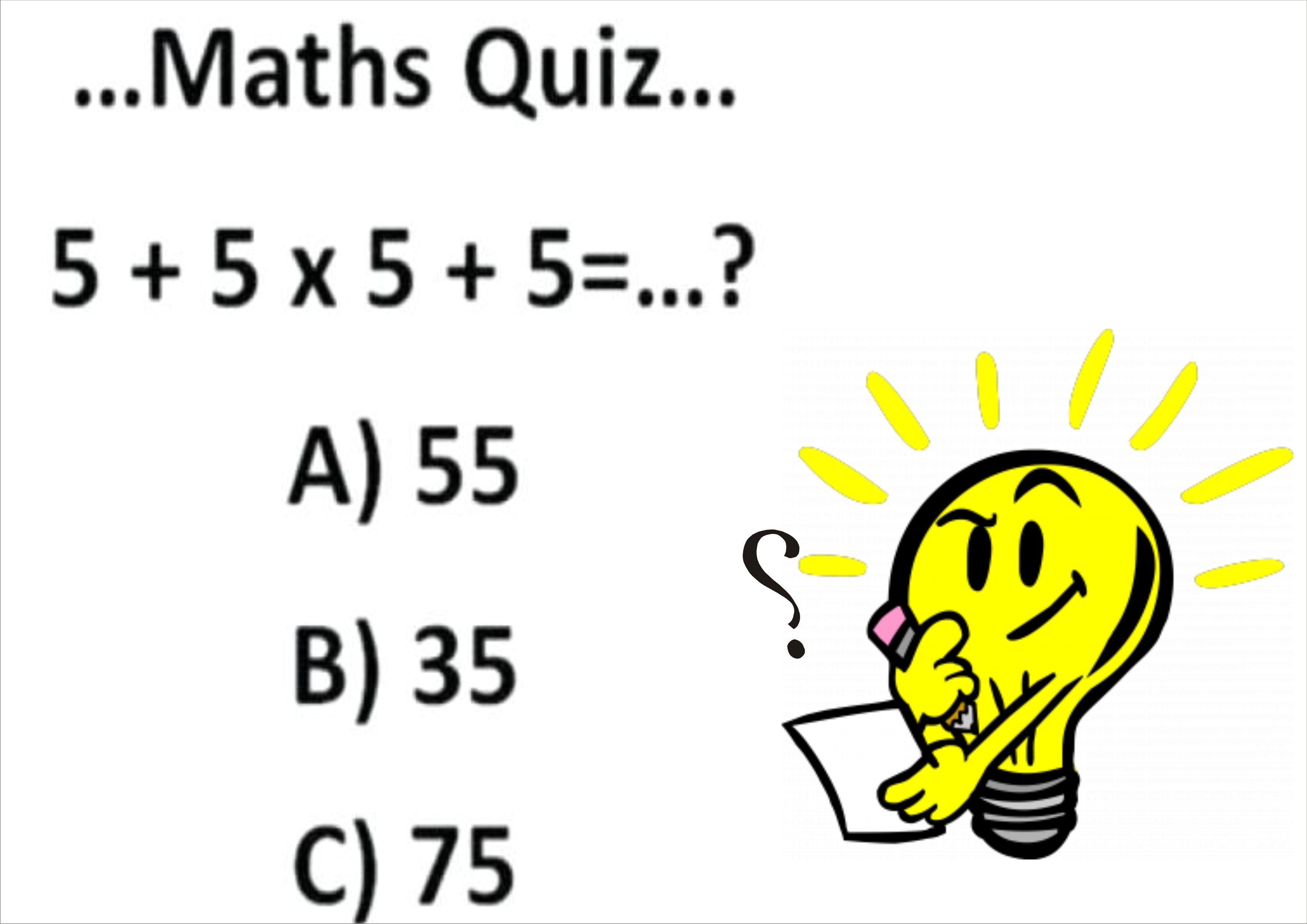 Maths Quiz For Kids