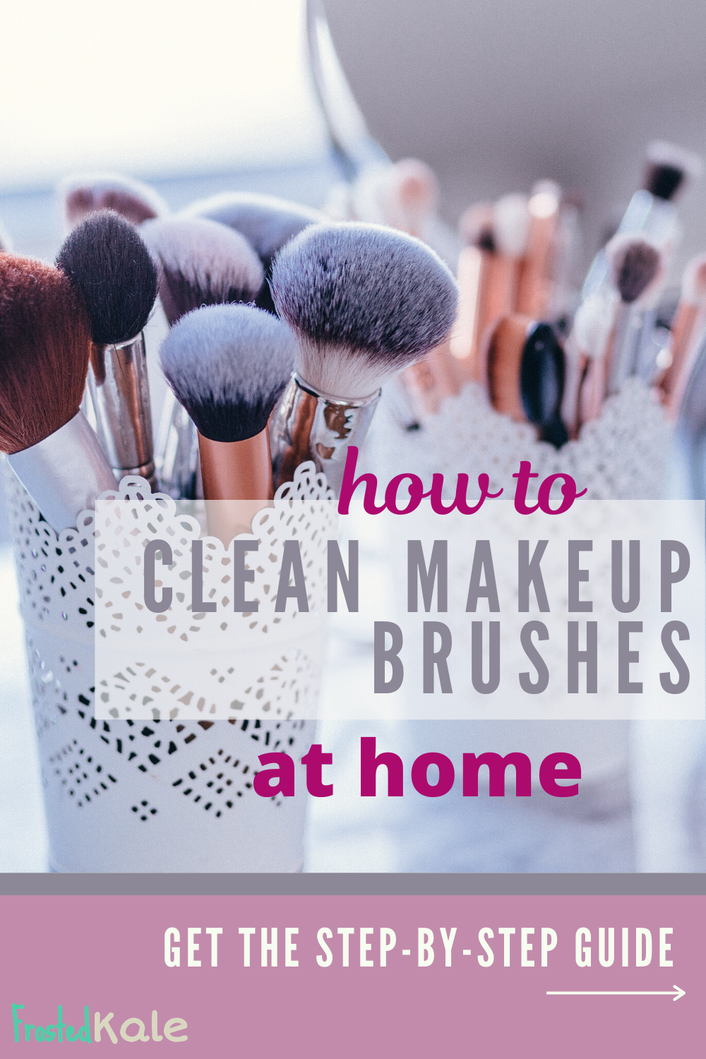 Cleaning Makeup Brushes DIYbrushes cleaning diy makeup