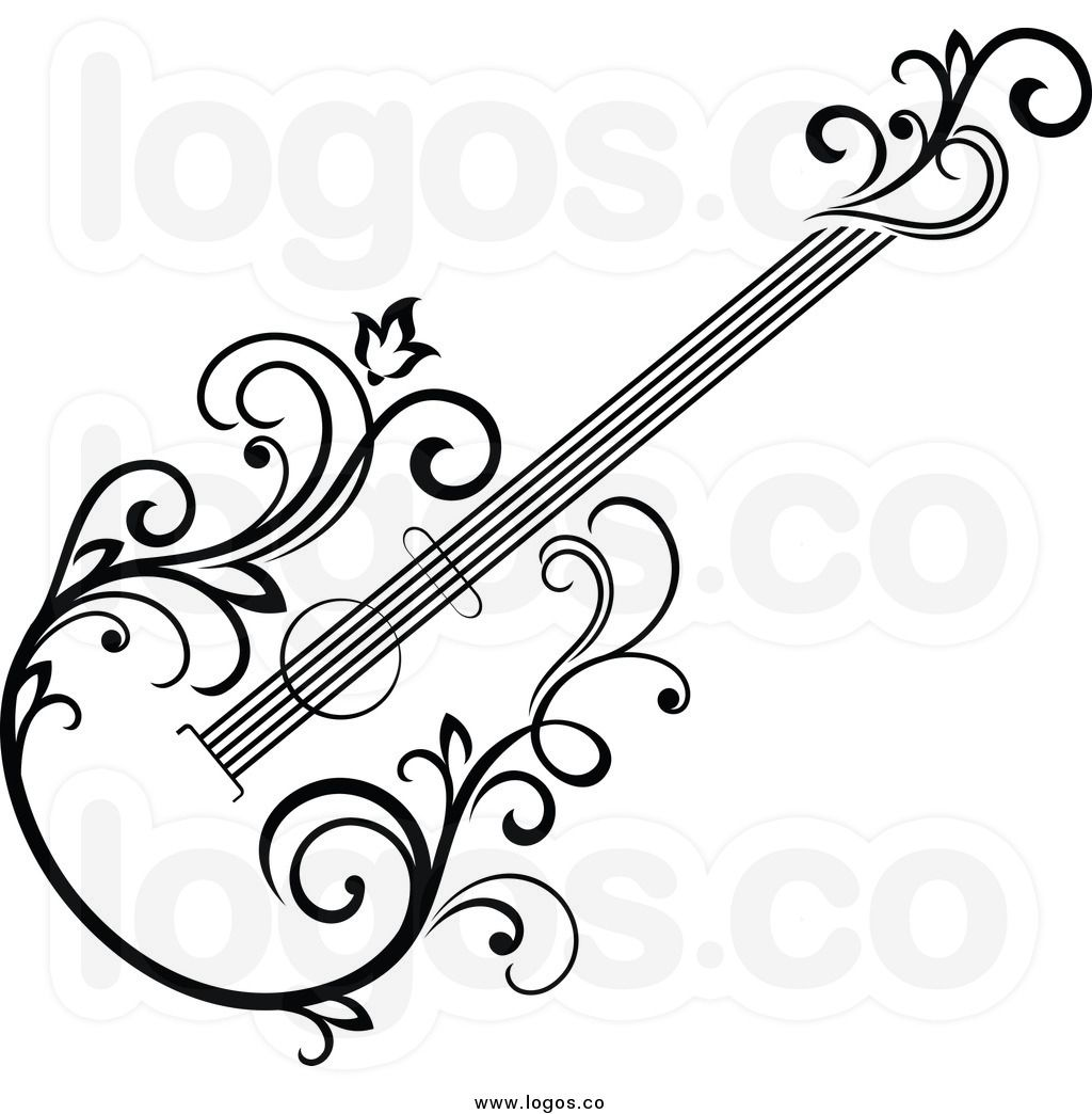 pin by dawn blake meyer on wood burning patterns pinterest Two Neck Guitar guitar tattoo guitar art music drawings music tattoos silhouette music clipart