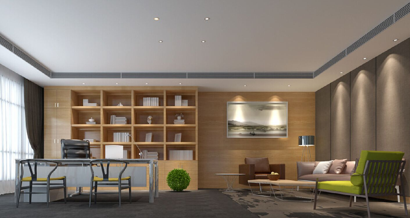Ceo office interior design minimalist hd ofis for Minimalist office interior design