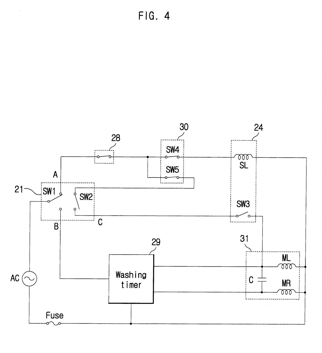 9 Automatic Wiring Diagram Of Washing Machine Timer Samples Bacamajalah In 2020 Washing Machine Motor Timer Washing Machine