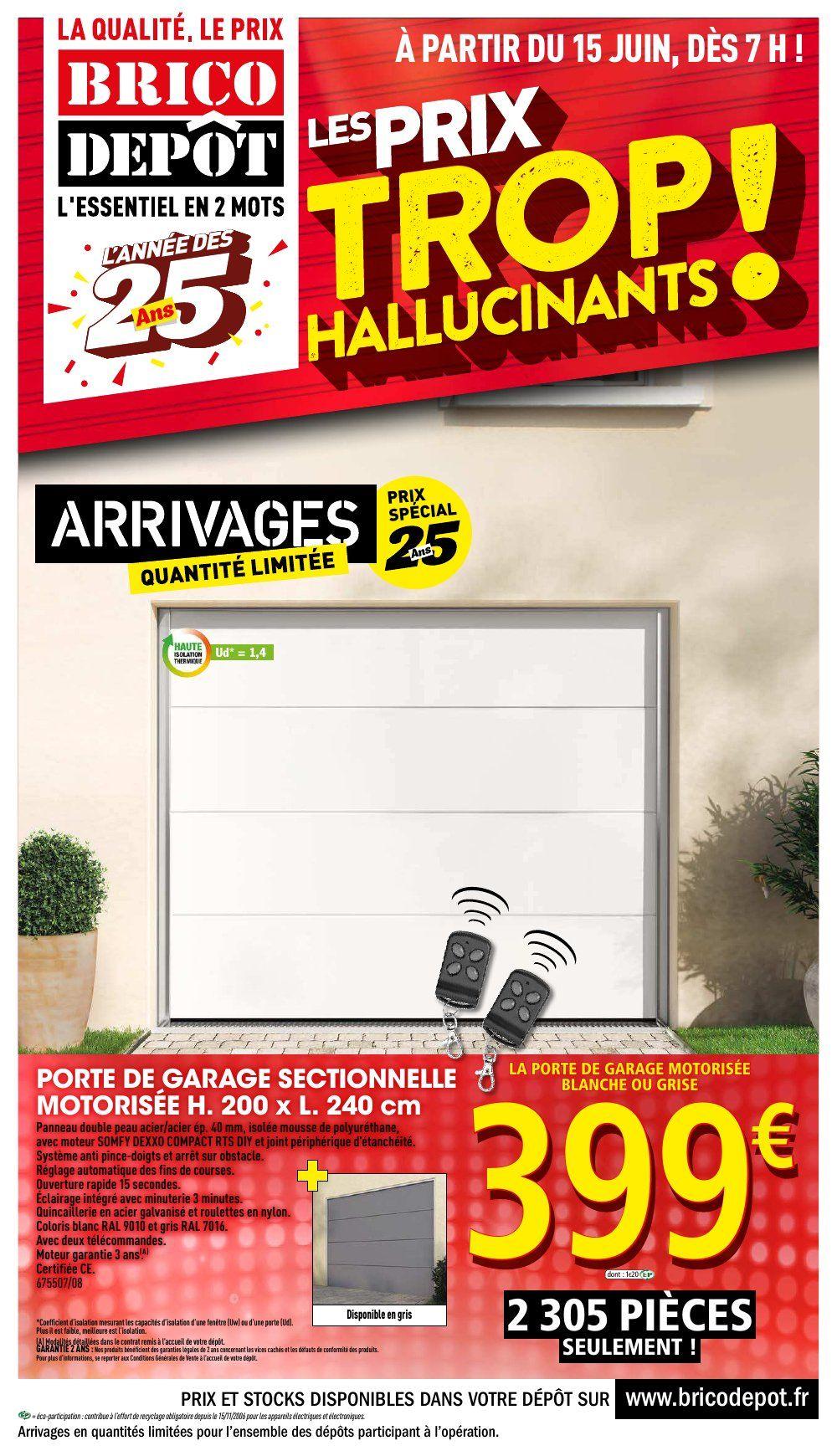 Catalogue Brico Dépôt 15 juin 05 juillet, 2018 Porte