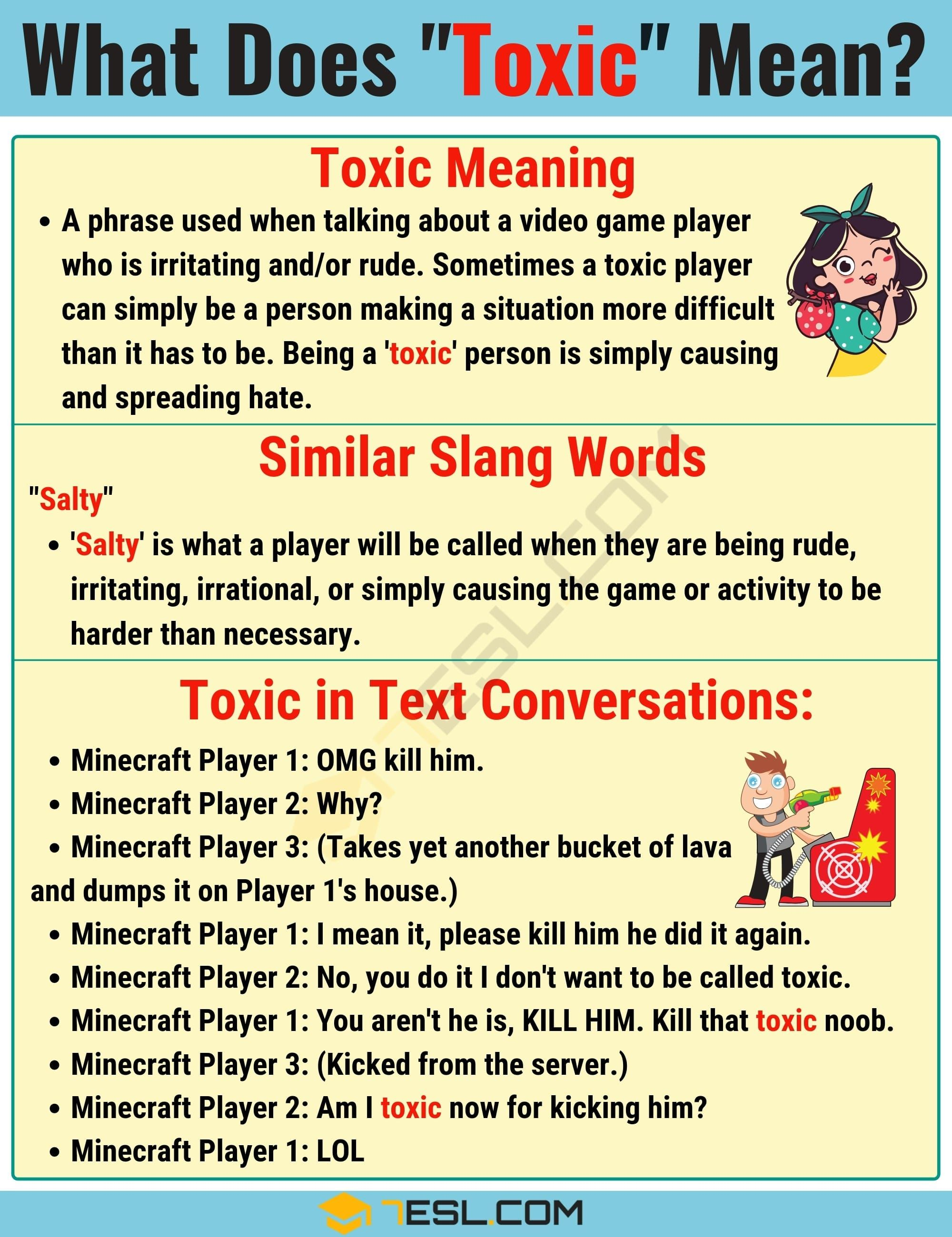 Toxic Meaning What Does Toxic Mean Useful Text Conversations