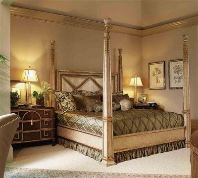 Bedroom Furniture on High End Master Bedroom Set Four ...