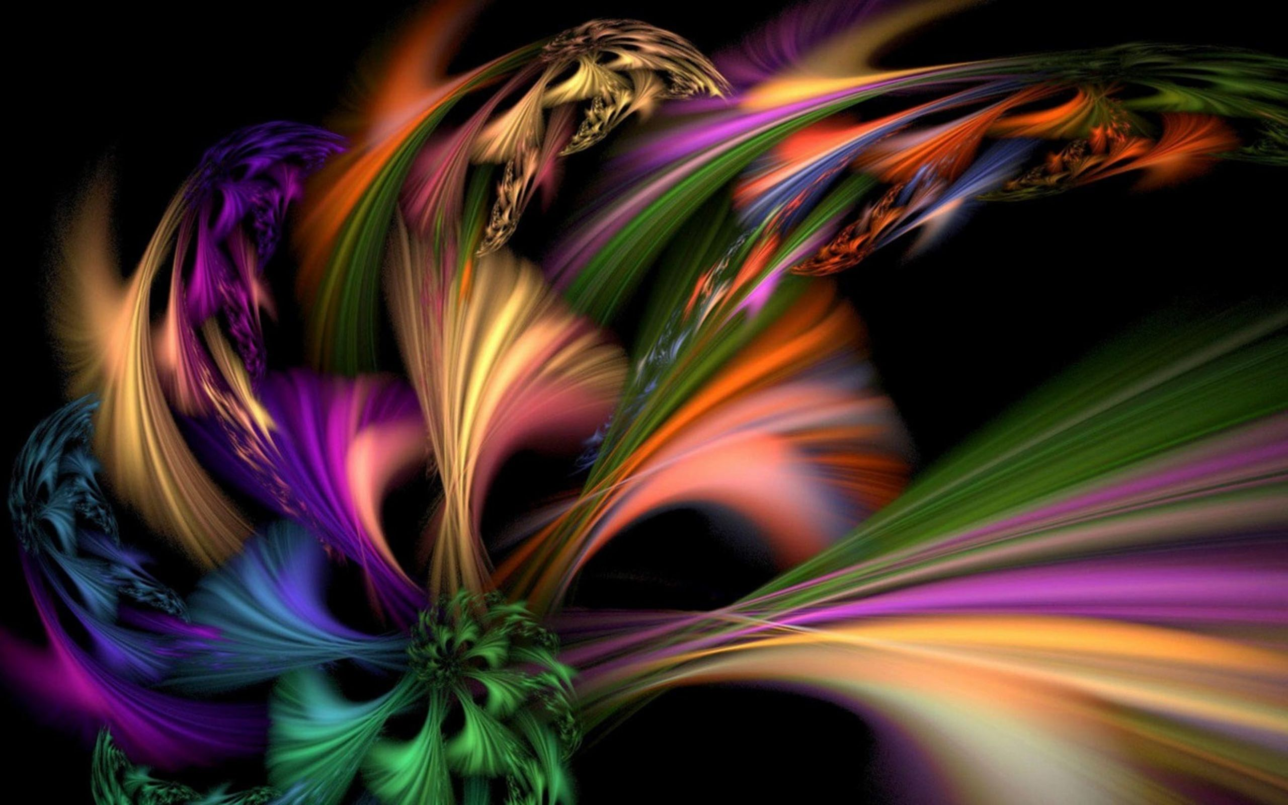 Color Burst Abstract Abstract Abstract Wallpaper Free Background Images