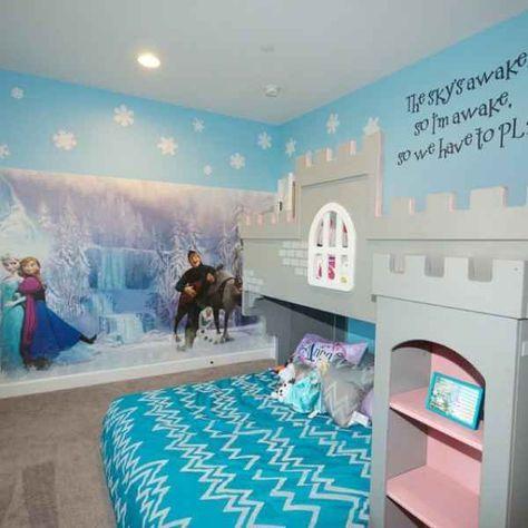 Turbo Kinderzimmer gestalten – 14 Ideen für das Eiskönigin-Mottozimmer DR94