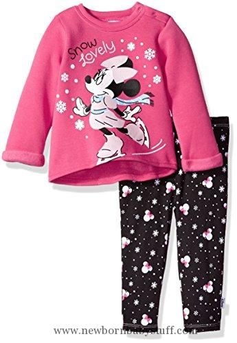 Disney Minnie Mouse Fashion Top for Girls Black
