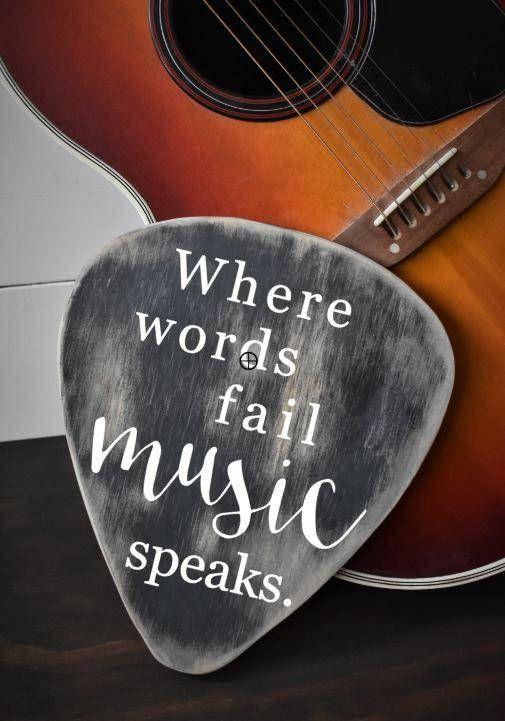 Musician Decor Gift For Musician Guitar Decor Guitar