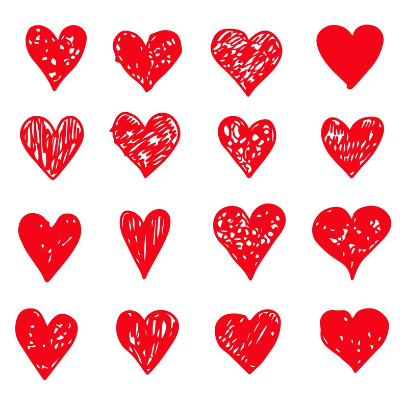 73 Hand Drawn Hearts Icon Sign Svg Doodle Heart Icon Etsy In 2021 Heart Icons Heart Hands Drawing How To Draw Hands