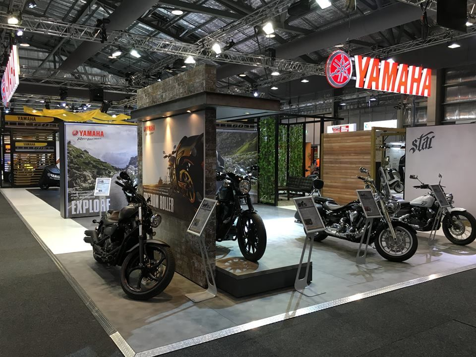 Marketing Exhibition Stand Builders : Yamaha stand at sydney motorcycle show exhibition