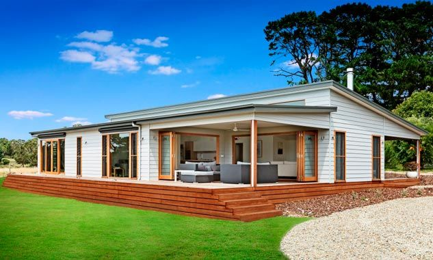 Lovely One Storey Prefab Home W Modern Flavor 6 Hq Pictures