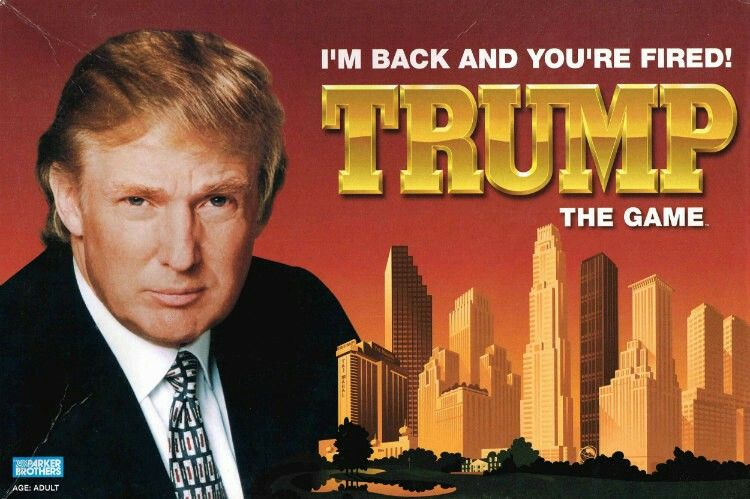 A video game of trump? 😂😂😂