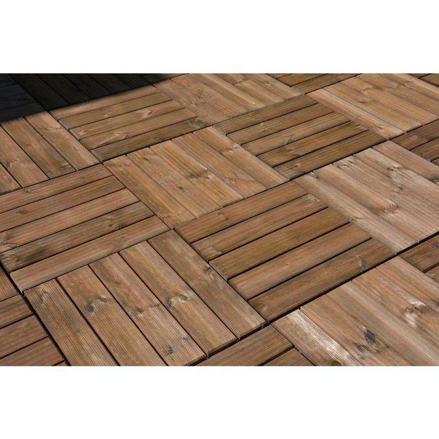 Podest Tarasowy Sosna Toskania 50 X 50 X 3 6 Cm Sobex Wood