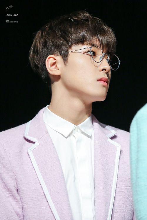 Image result for wonwoo seventeen glasses