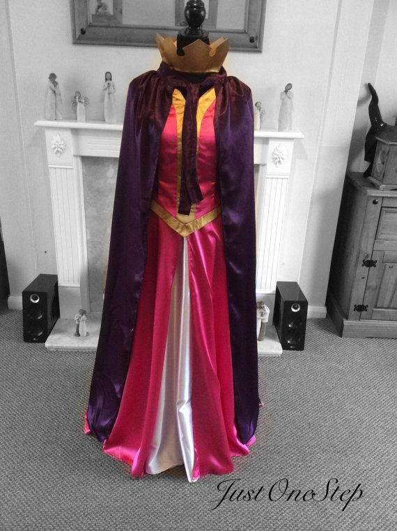 Queen Leah Inspired Sleeping Beauty Dress With Cape And