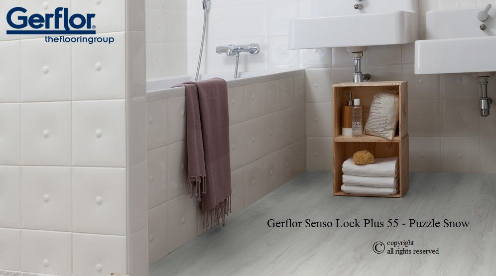 lame pvc clipsable gerflor senso lock plus 55 puzzle. Black Bedroom Furniture Sets. Home Design Ideas