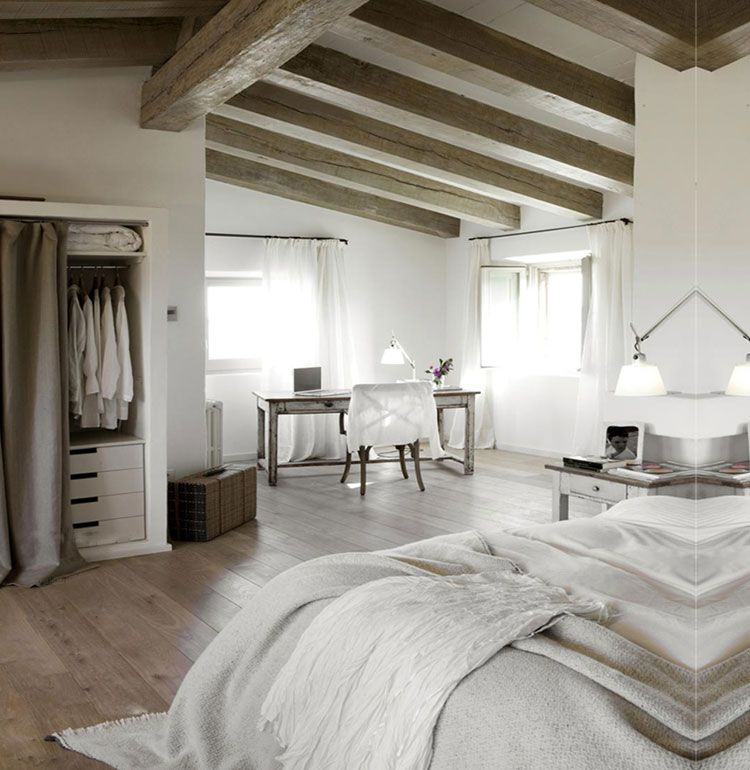 Slaapkamer landelijk inrichten? Tips en voorbeelden! | Bedrooms ...