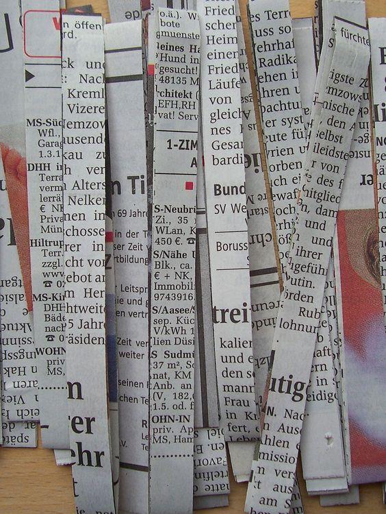 Photo of Zeitungsgarn herstellen – HANDMADE Kultur