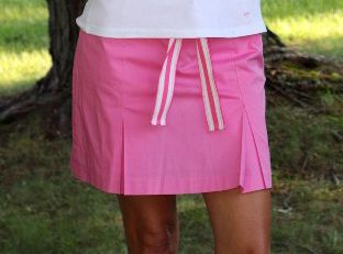 Ladies Golf Fashion! Check out our Golftini Hot Pink Pleated Skort for $120.00