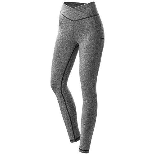99ce2383fb48a Womens Workout Leggings Compression Yoga Pants with High Waist Streamlined  Design for Fitness Sports Gym Running Pants #leggings #pants