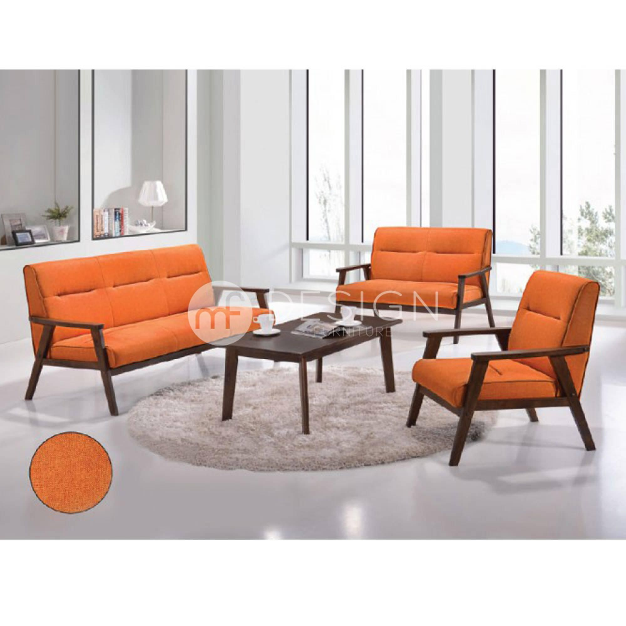 Nest 1 2 3 Antique Sofa Set Orange Mf Design Malaysian Favourite Design Furniture Sofa Set Living Room Furniture