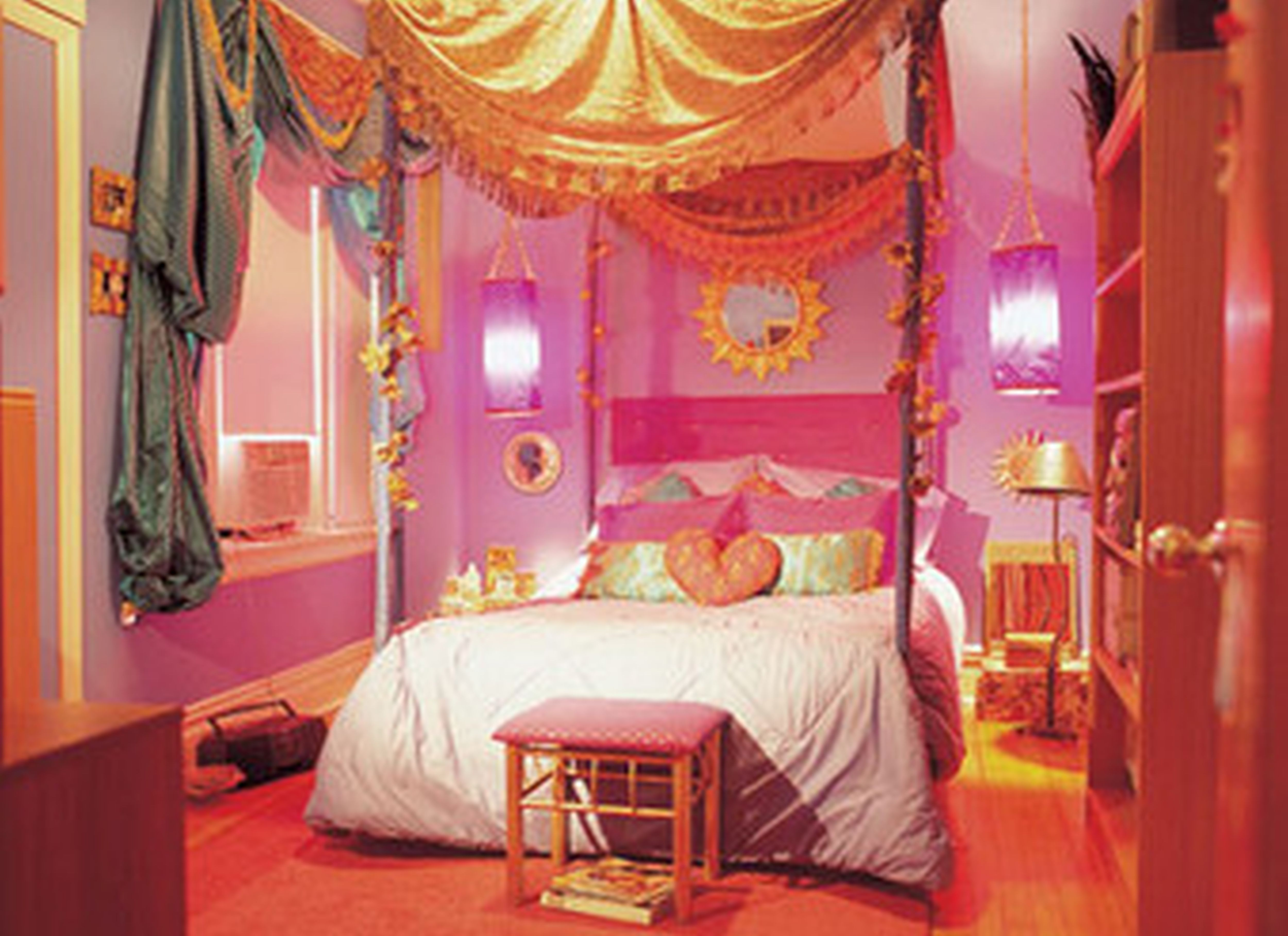 Girl Bedroom Ideas For Small Bedrooms & Elegant Girls Canopy Bed Designs Sets - http://katrinahousing.net ...