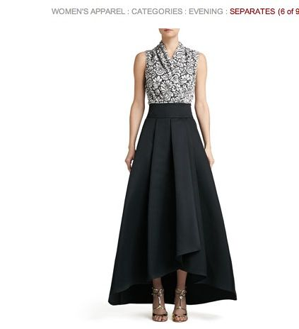 Skirt but all one length perhaps