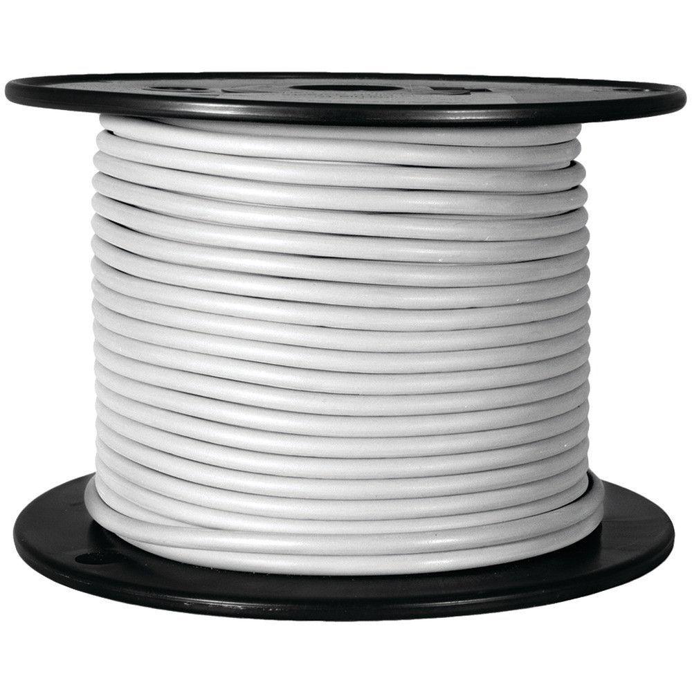 Battery Doctor Gxl Crosslink Wire 100ft Spool (16 Gauge White ...